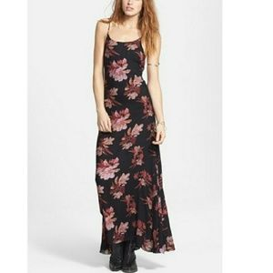 NWT FREE PEOPLE CHASING STARS MAXI DRESS S